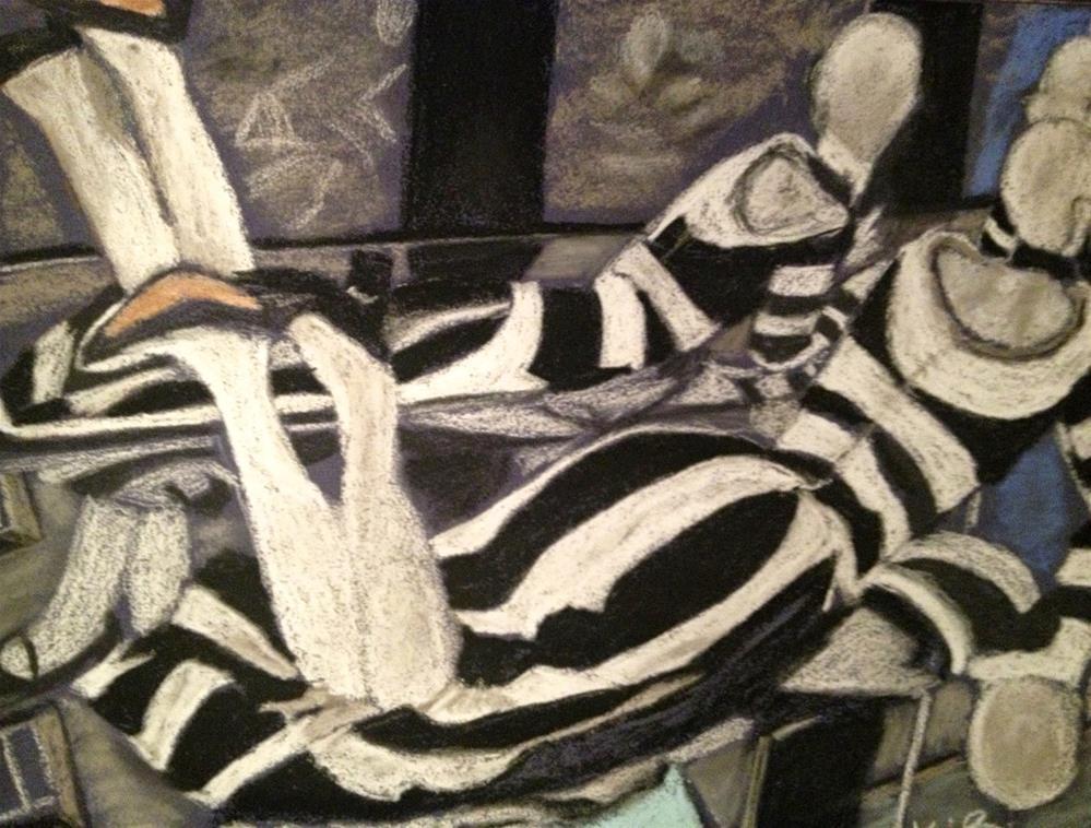 """Poised Reflection"" original fine art by Kimberly Balentine"