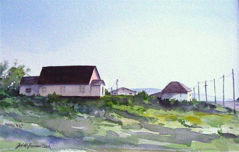 """Afternoon Sun"" original fine art by Judith Freeman Clark"