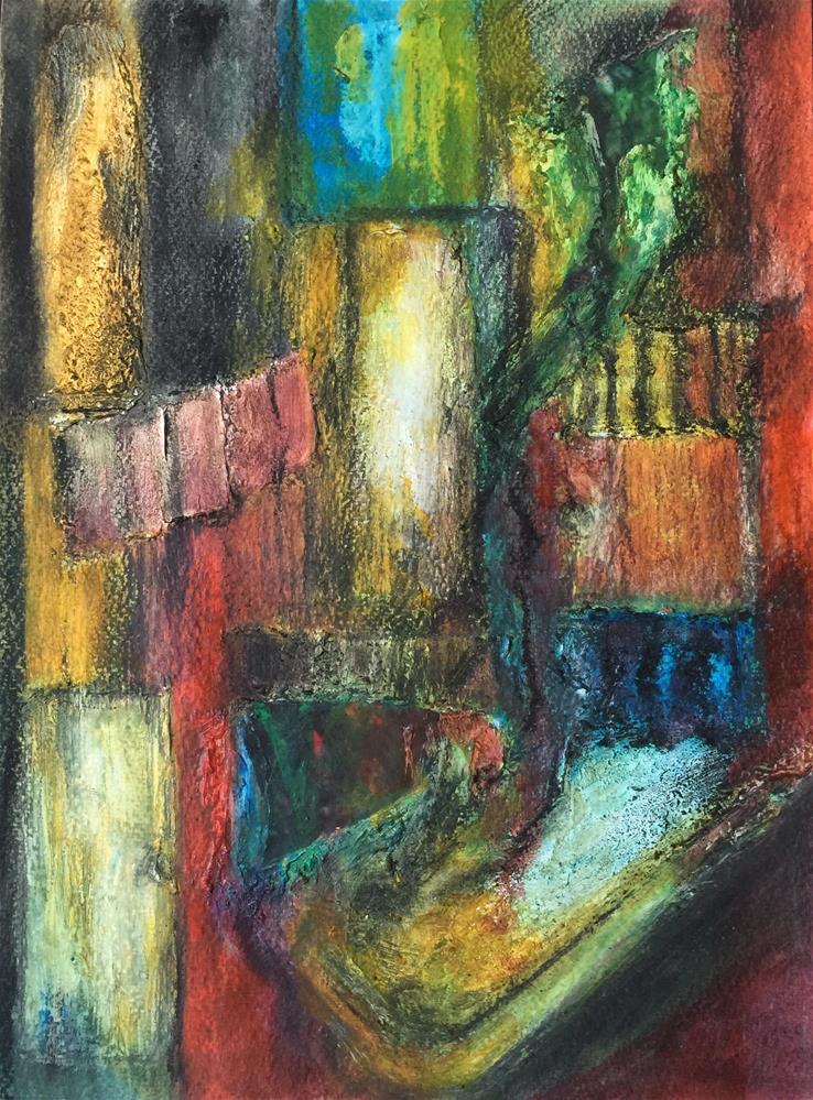 """Old doors, old windows"" original fine art by Monica Pinotti"