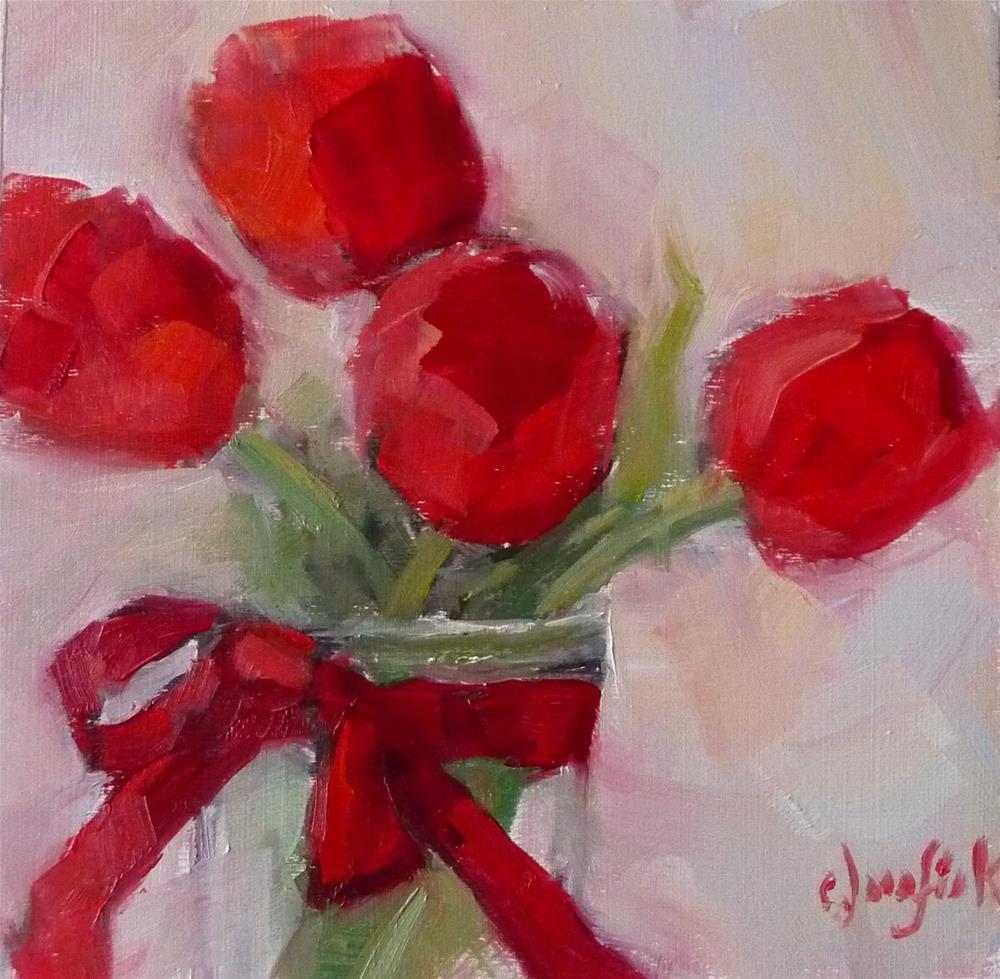 """Be My Valentine"" original fine art by Carol Josefiak"