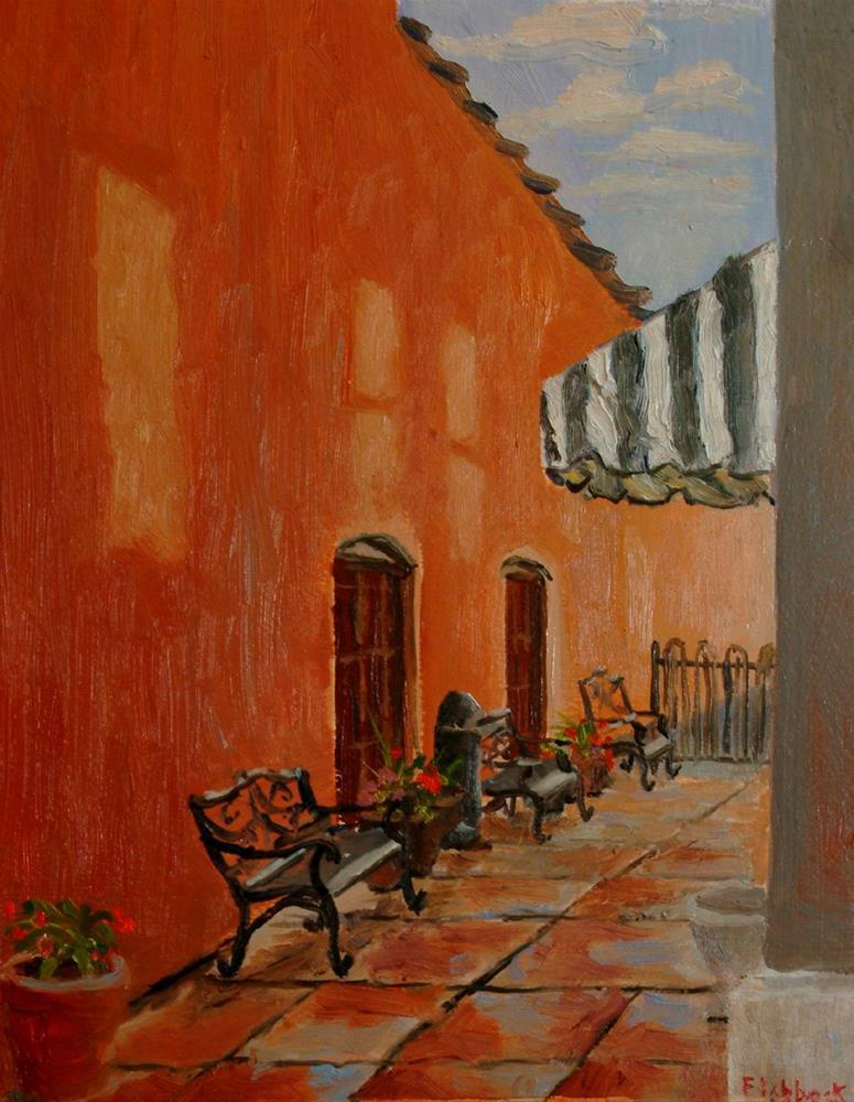"""Ice Cream Lane"" original fine art by Daniel Fishback"