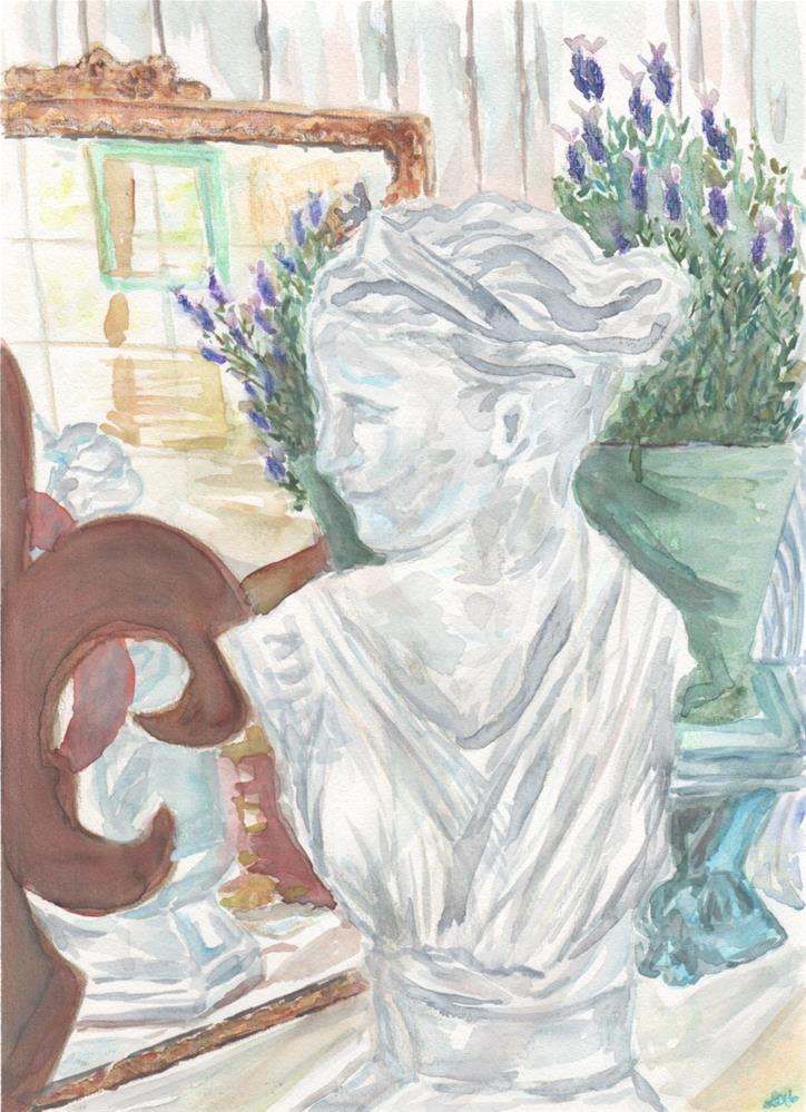 """""""Timeless Beauty"""" original fine art by Laura Denning"""