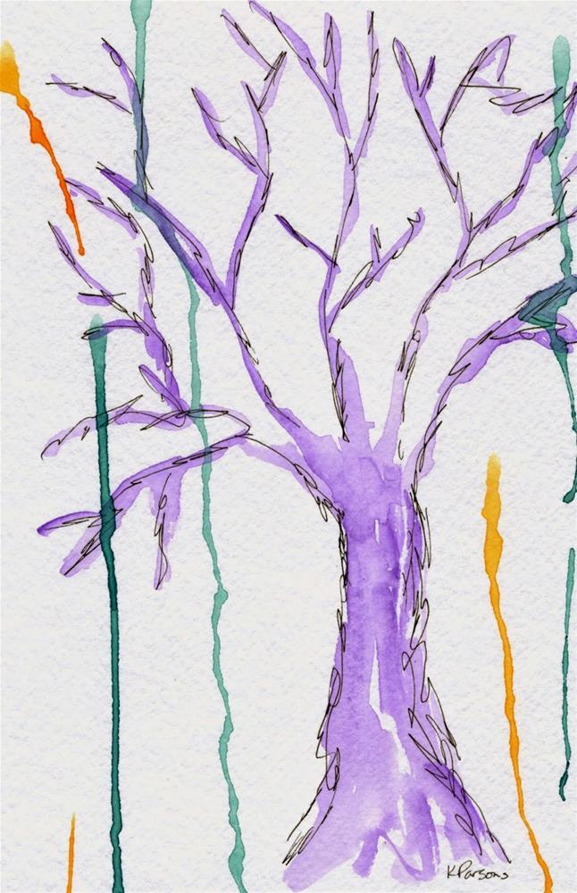 """Weeping"" original fine art by Kali Parsons"