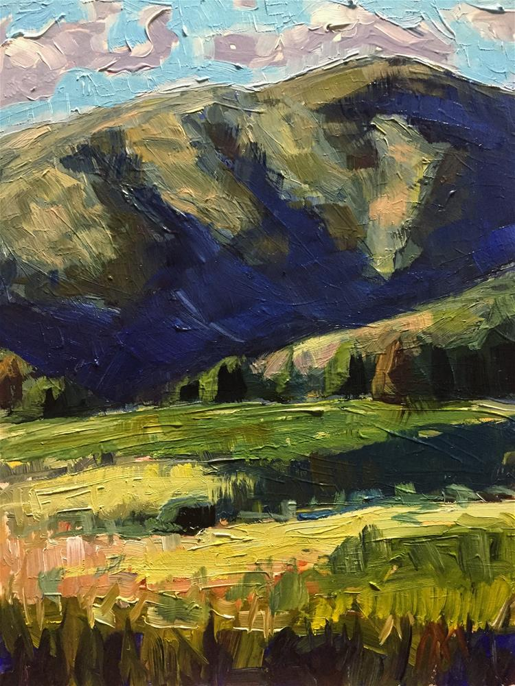 """Mountain Study"" original fine art by Austin Maloney"