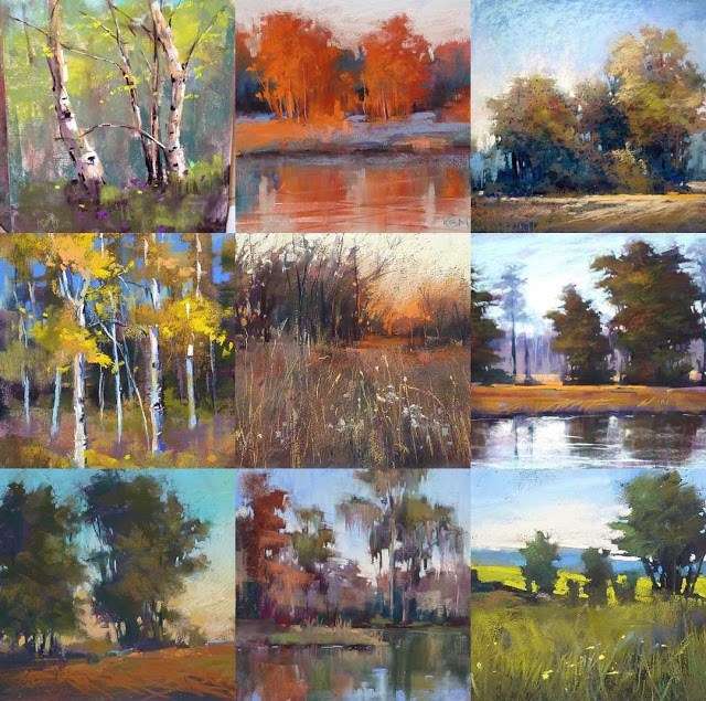 """My 2015 Best Nine Instagrams....a Revelation!"" original fine art by Karen Margulis"