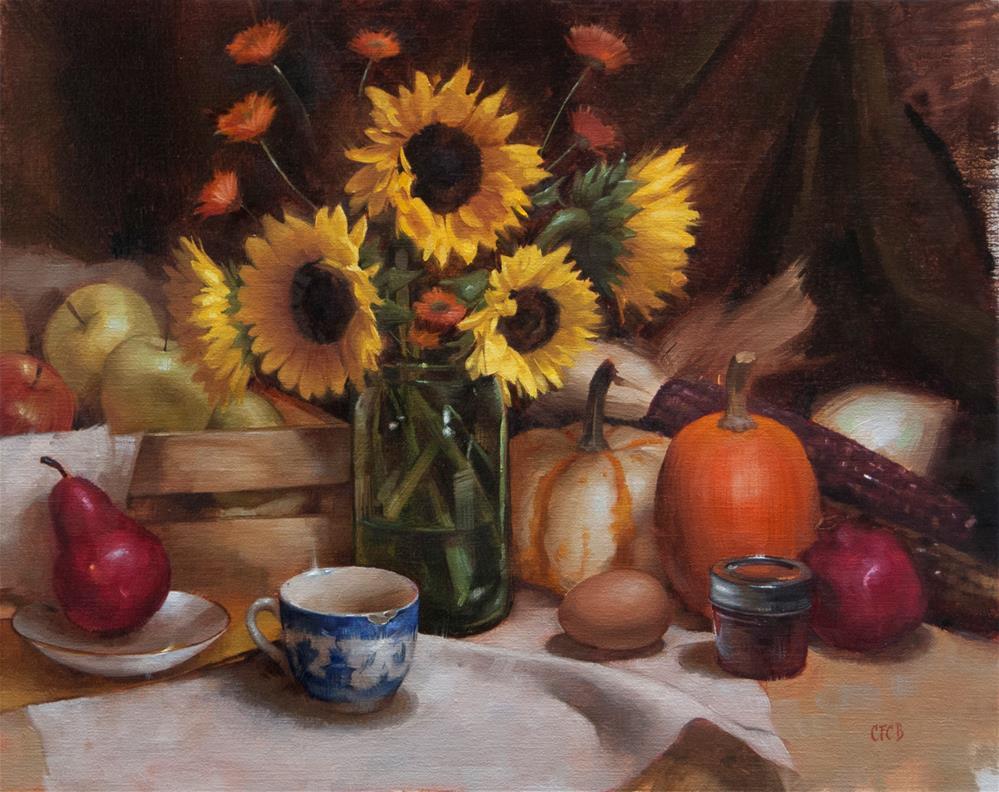 """Colors of Autumn"" original fine art by Catherine Bobkoski"