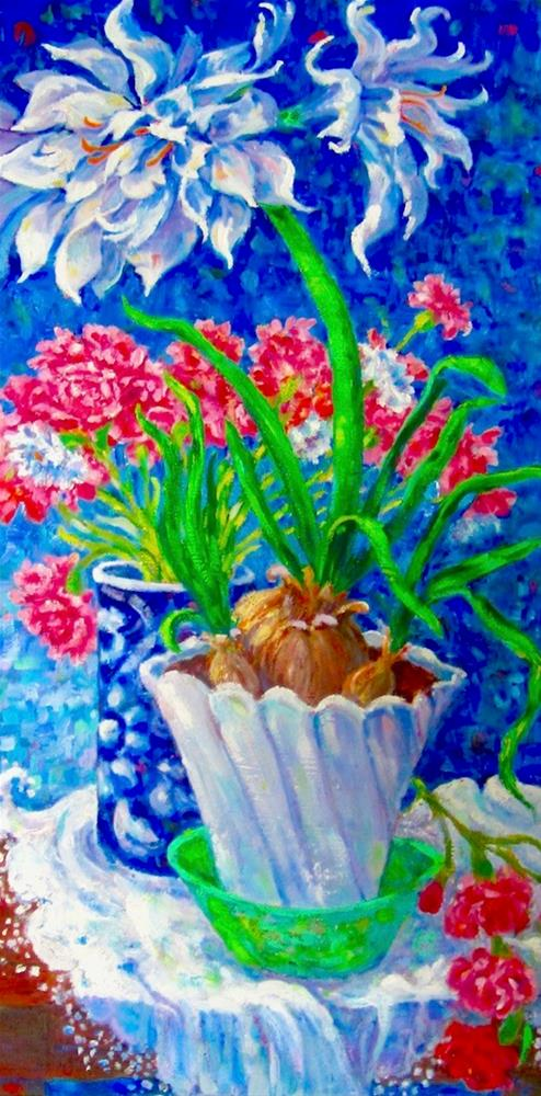 """Snow Queen in Bloom"" original fine art by Patricia Musgrave"