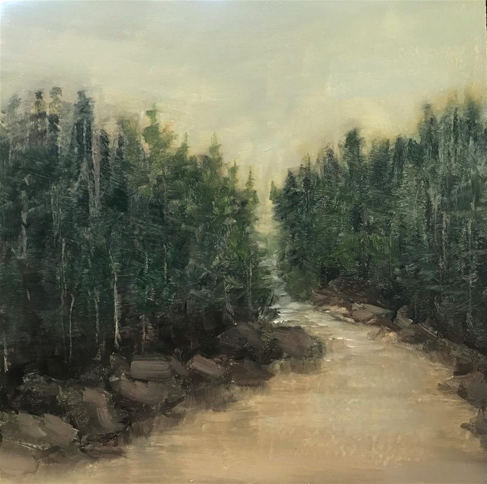 """river"" original fine art by Betty Argiros"