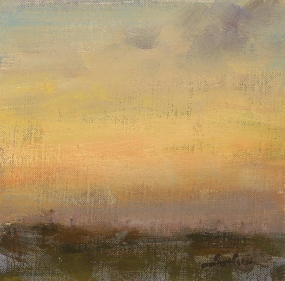 """""""Fall Sunrise 04"""" original fine art by Scott Serafica"""