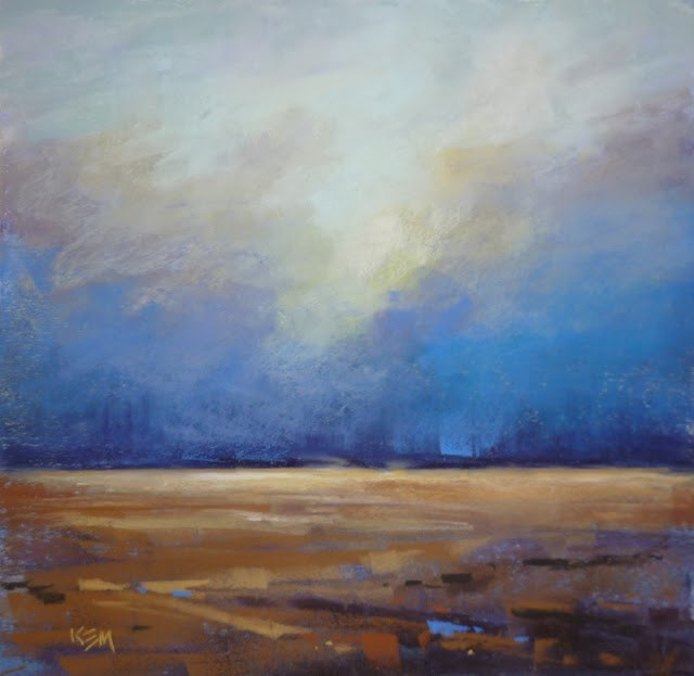 """""""Sky Workshop Today! Mini Review and Book Recommendation"""" original fine art by Karen Margulis"""
