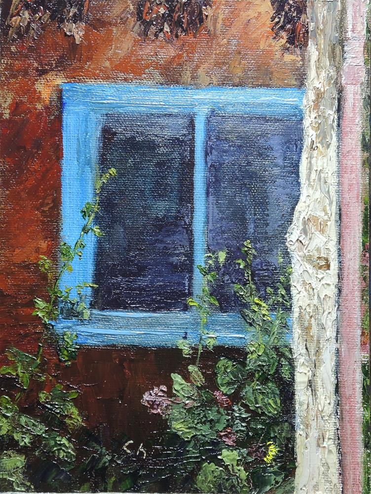 """Southwest Window I"" original fine art by Candi Hogan"