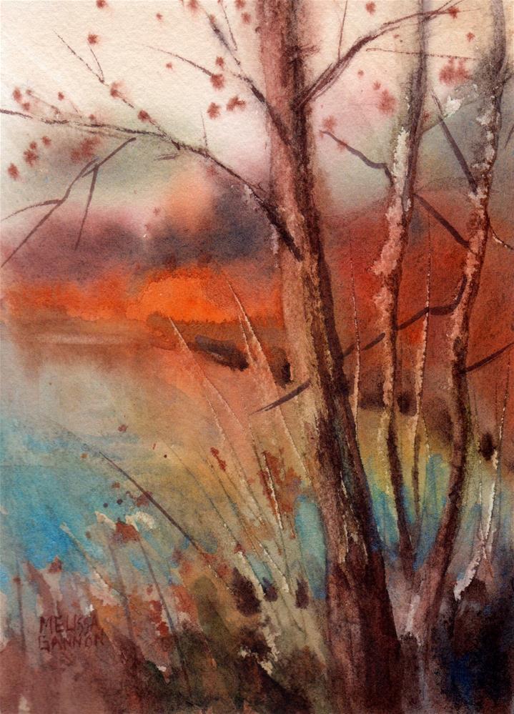 """Banquet of Color"" original fine art by Melissa Gannon"
