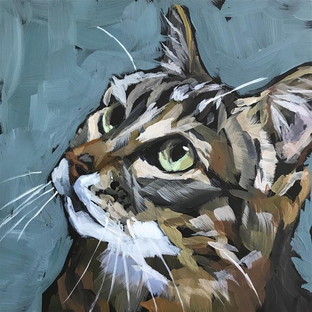"""Focus 2"" original fine art by Gina Garding"