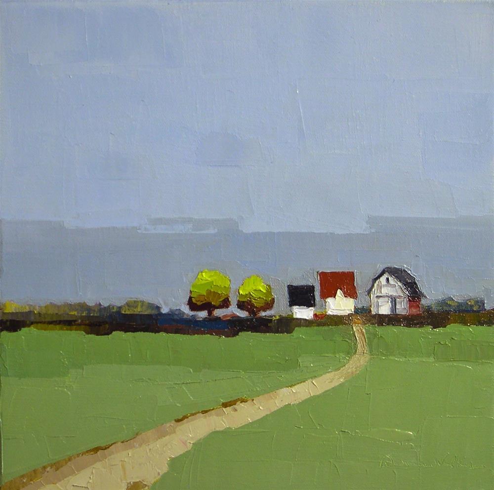 """The Road Home II"" original fine art by Donna Walker"