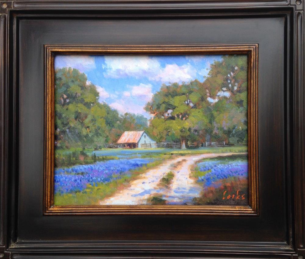 """Around the Bend"" original fine art by David Forks"