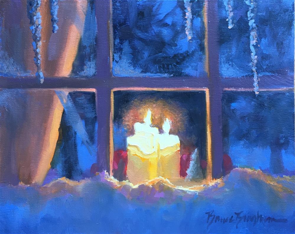 """""""Inner Light"""" original fine art by Bruce Bingham"""