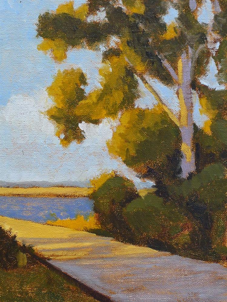 """Marsh Pines II"" original fine art by Adam Houston"