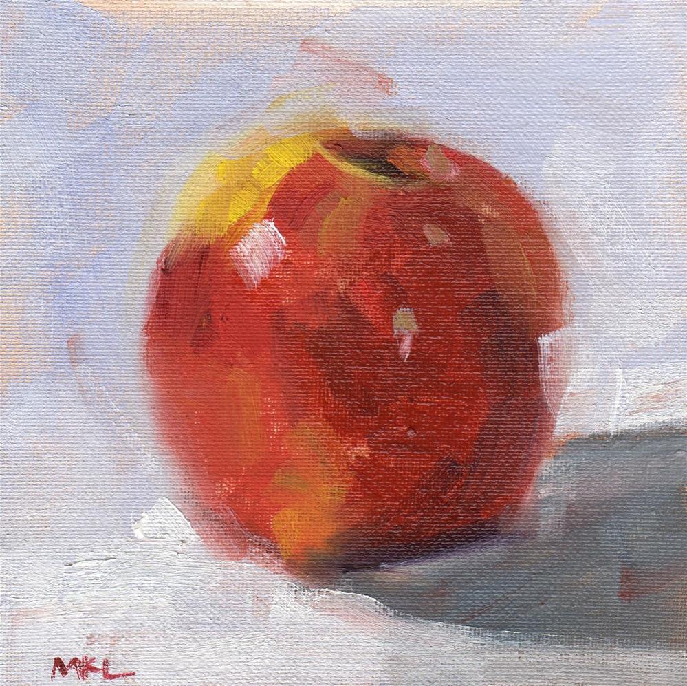 """""""Apple"""" original fine art by Marlene Lee"""