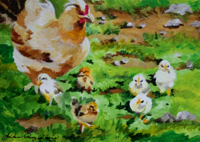"""The Family Business"" original fine art by JoAnne Perez Robinson"