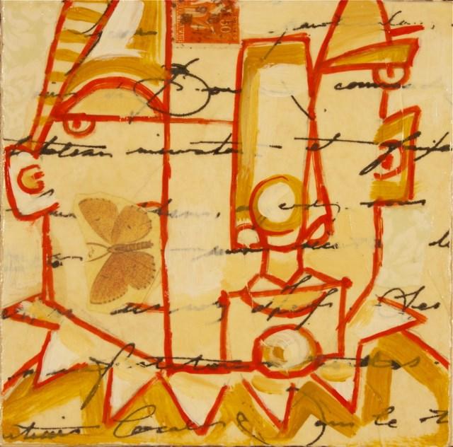 """The Writing On The Wall"" original fine art by Brenda York"