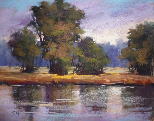 """""""Three Simple Rules for a Painting Commission"""" original fine art by Karen Margulis"""