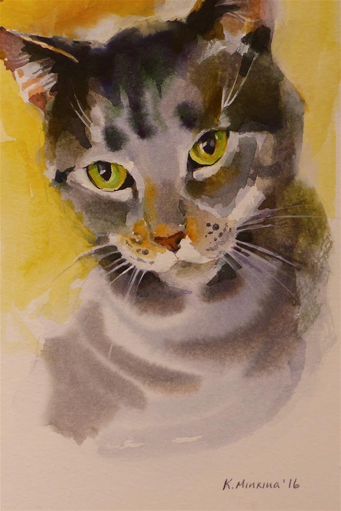 """adopt156"" original fine art by Katya Minkina"