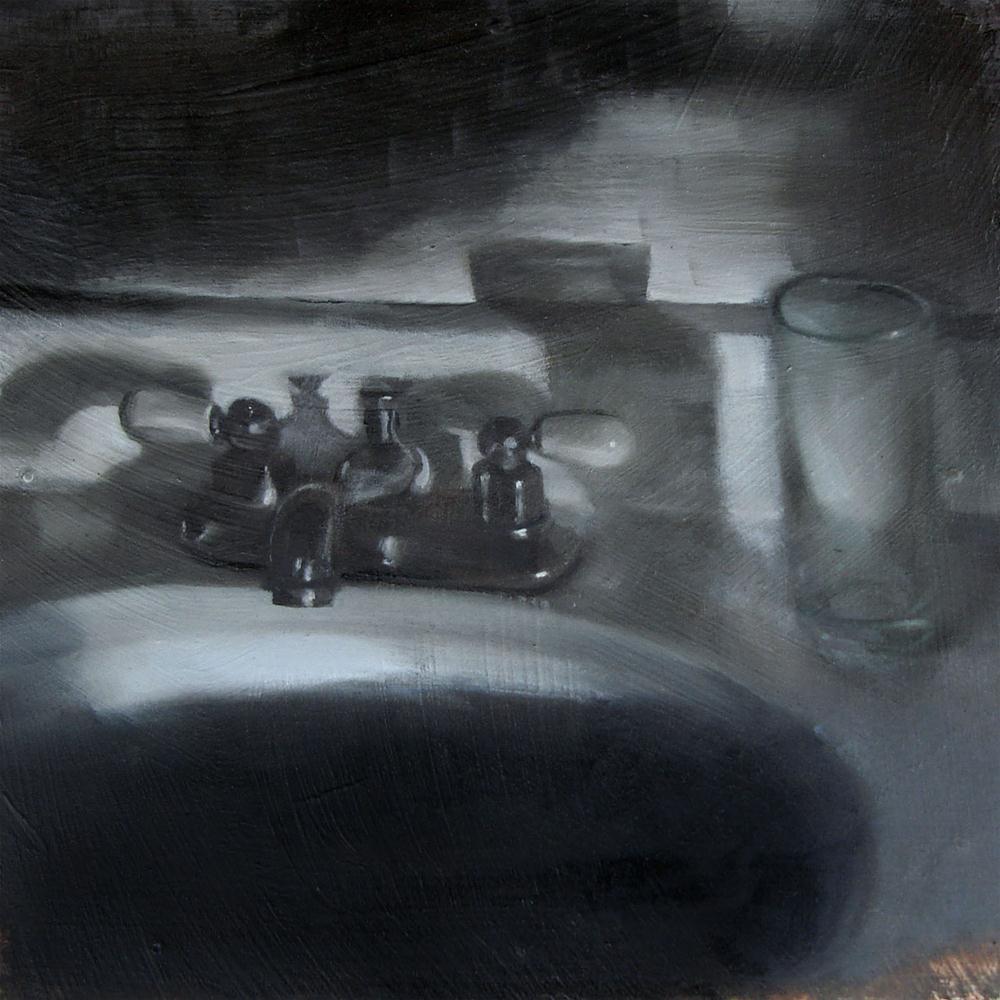 """""""Night Sink (no.92)"""" original fine art by Michael William"""