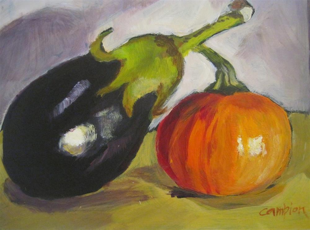 """476  A Delicate Balance"" original fine art by Diane Campion"