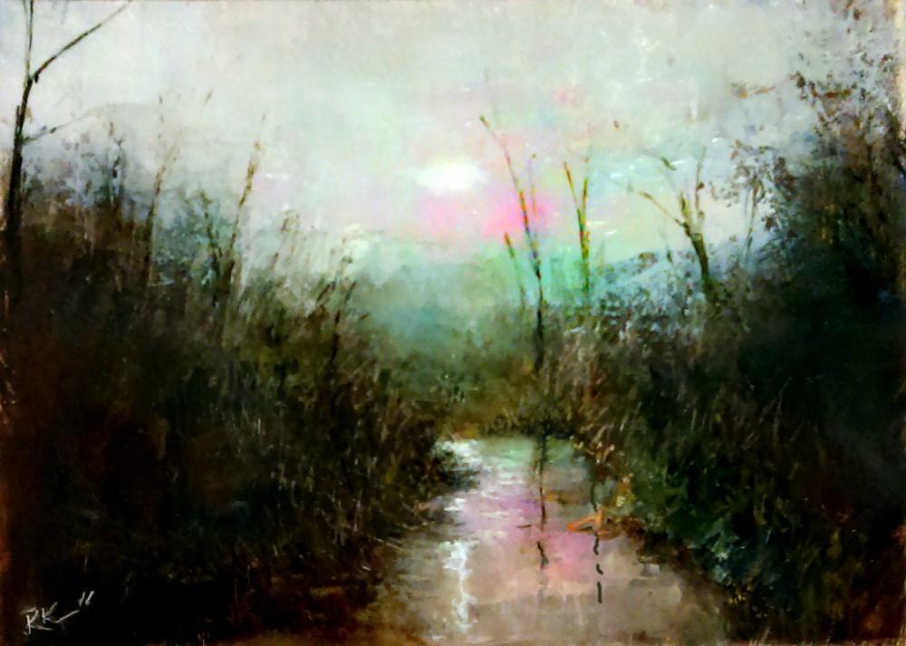 """The Hidden Stream"" original fine art by Bob Kimball"