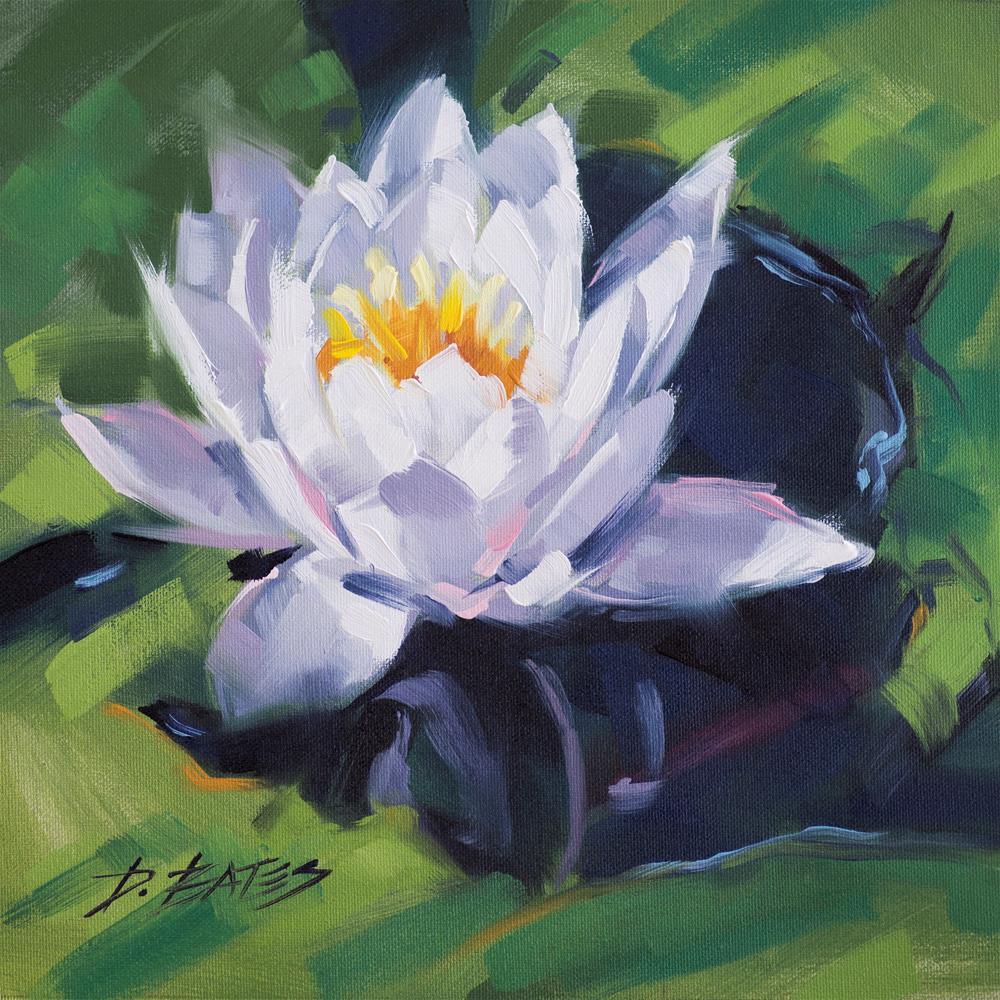 """Nymphaea"" original fine art by David Bates"