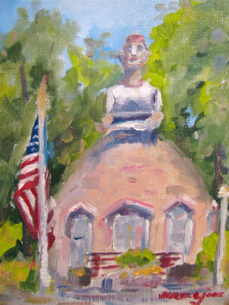 """Mammy's Cupboard"" original fine art by Susan Elizabeth Jones"