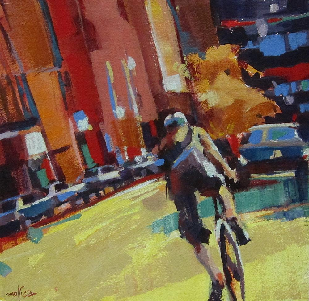 """Traffic Patterns"" original fine art by Patti Mollica"