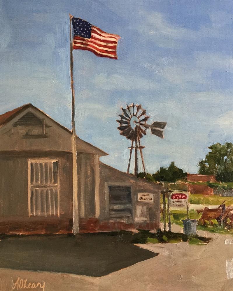 """""""Fuller Drive Dallas"""" original fine art by Alice O'Leary"""