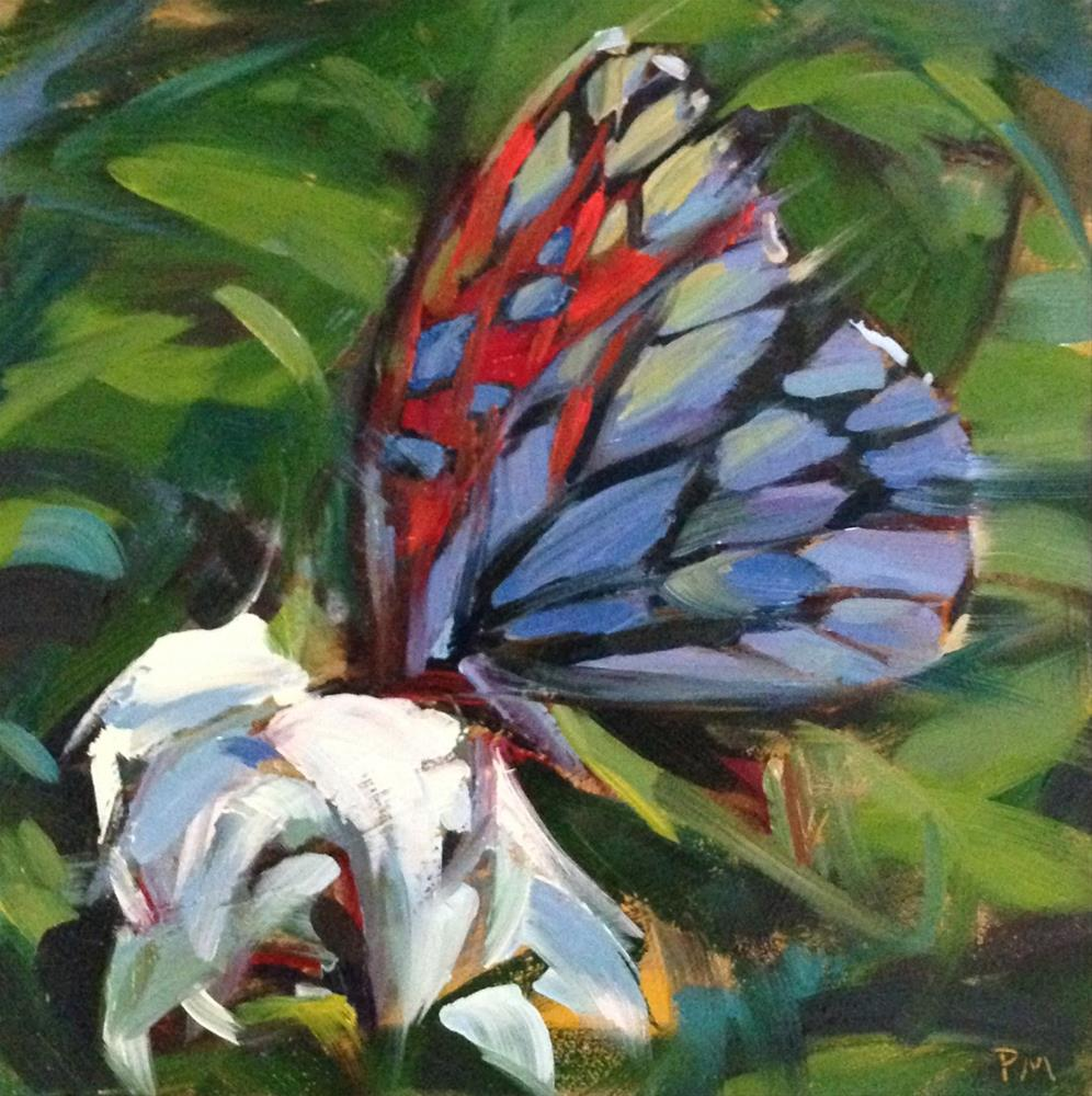 """The Sarkis Butterfly"" original fine art by Patti McNutt"