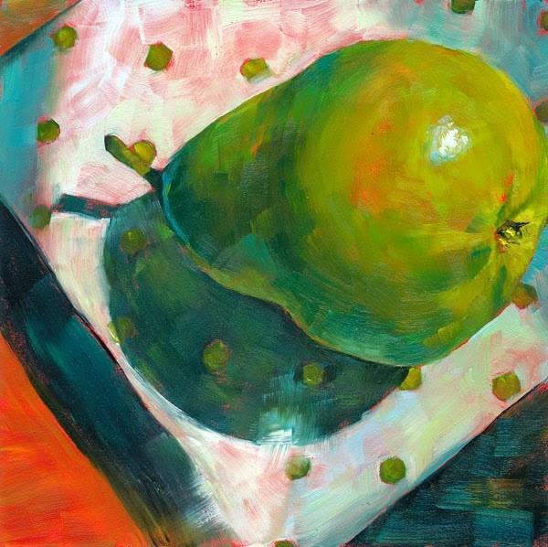 """Plump Rump"" original fine art by Brenda Ferguson"