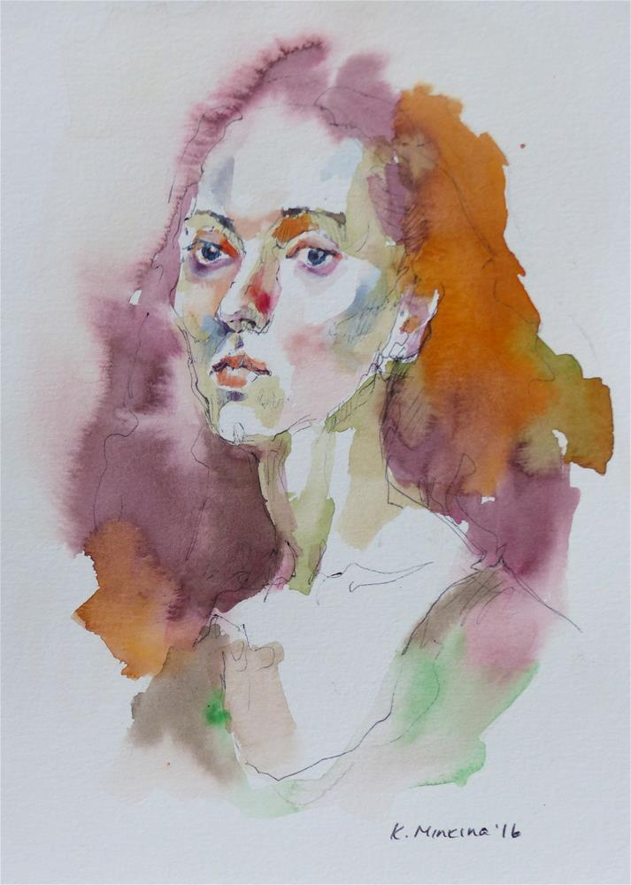 """sketchbook#30"" original fine art by Katya Minkina"