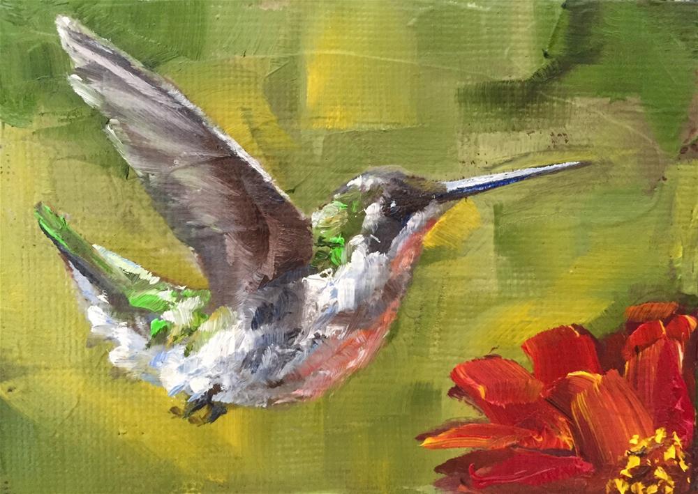 """""""Free As A Bird"""" original fine art by Gary Bruton"""
