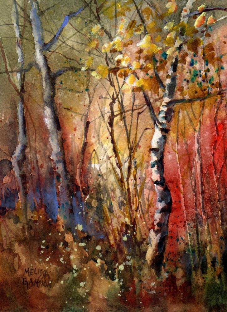"""Mysteries of the Woods"" original fine art by Melissa Gannon"