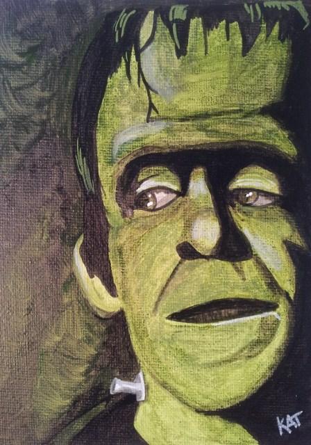 """Herman"" original fine art by Kathleen Carrier"