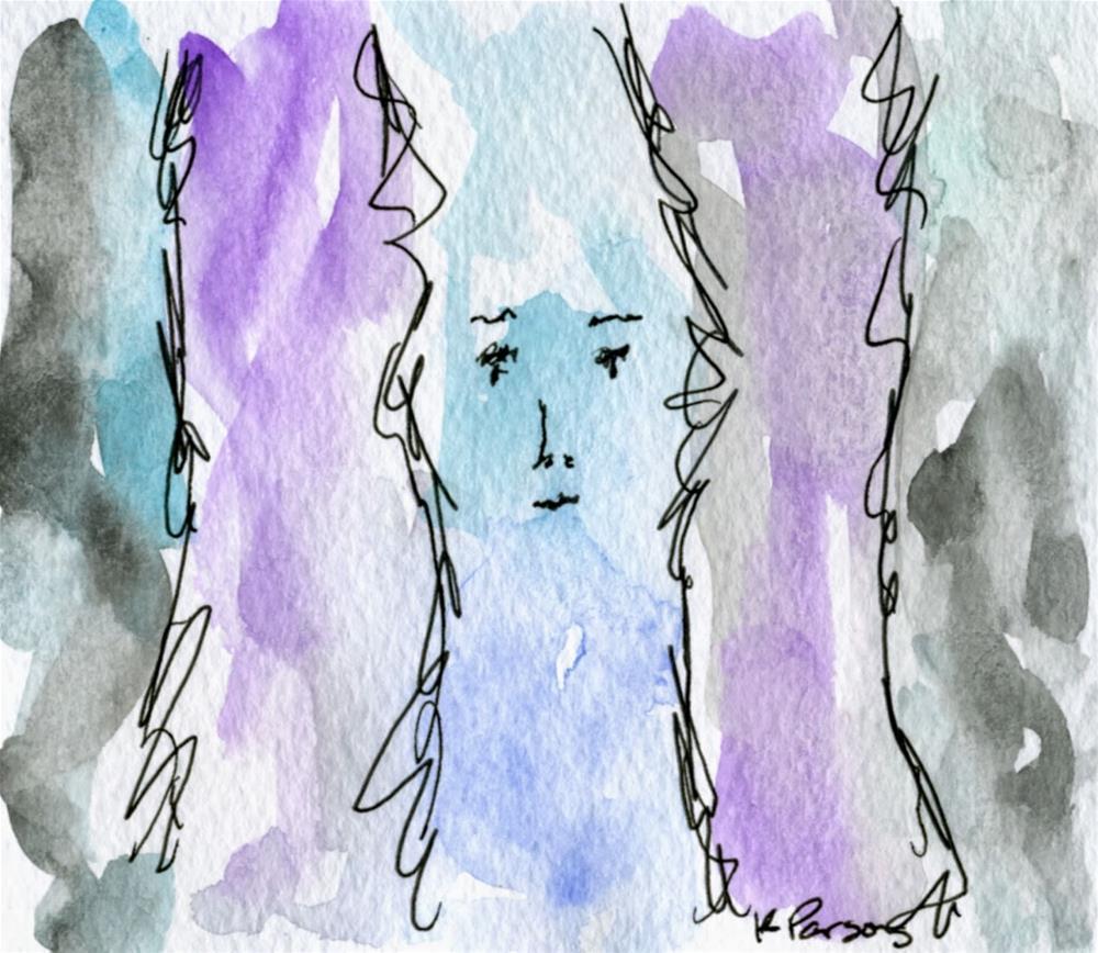 """Seeing Between the Lines"" original fine art by Kali Parsons"