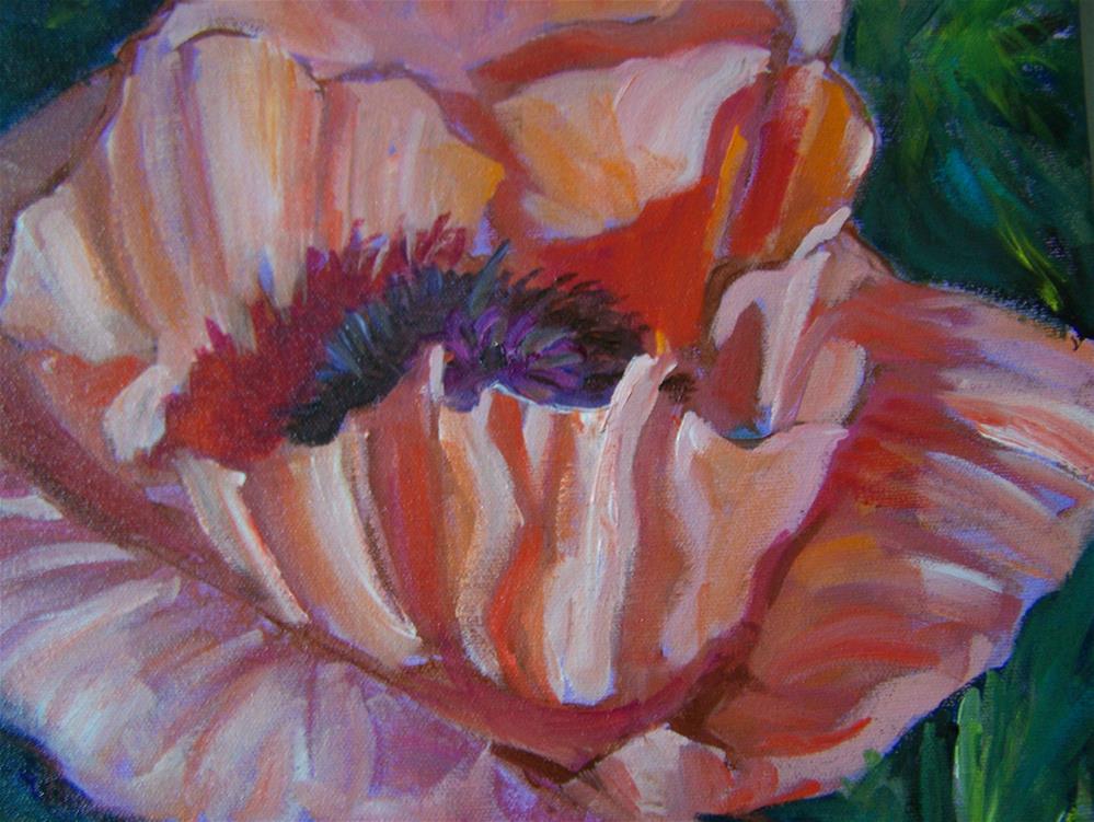 """""""Poppy"""" original fine art by Joan Reive"""