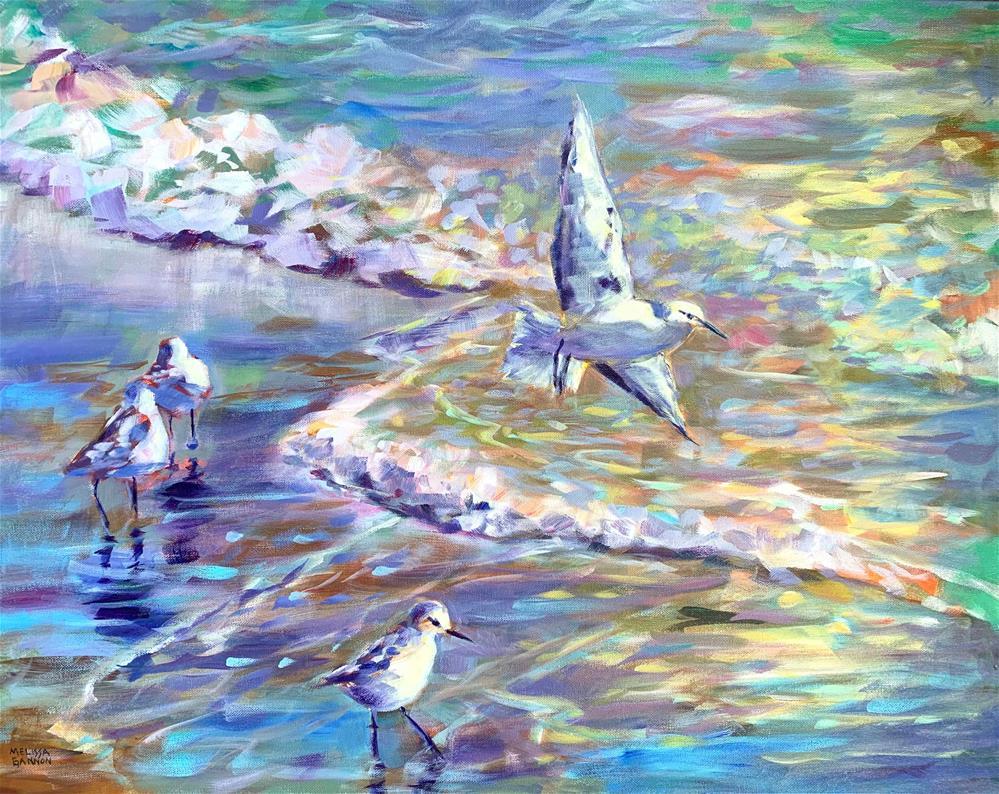 """Beach Magics"" original fine art by Melissa Gannon"