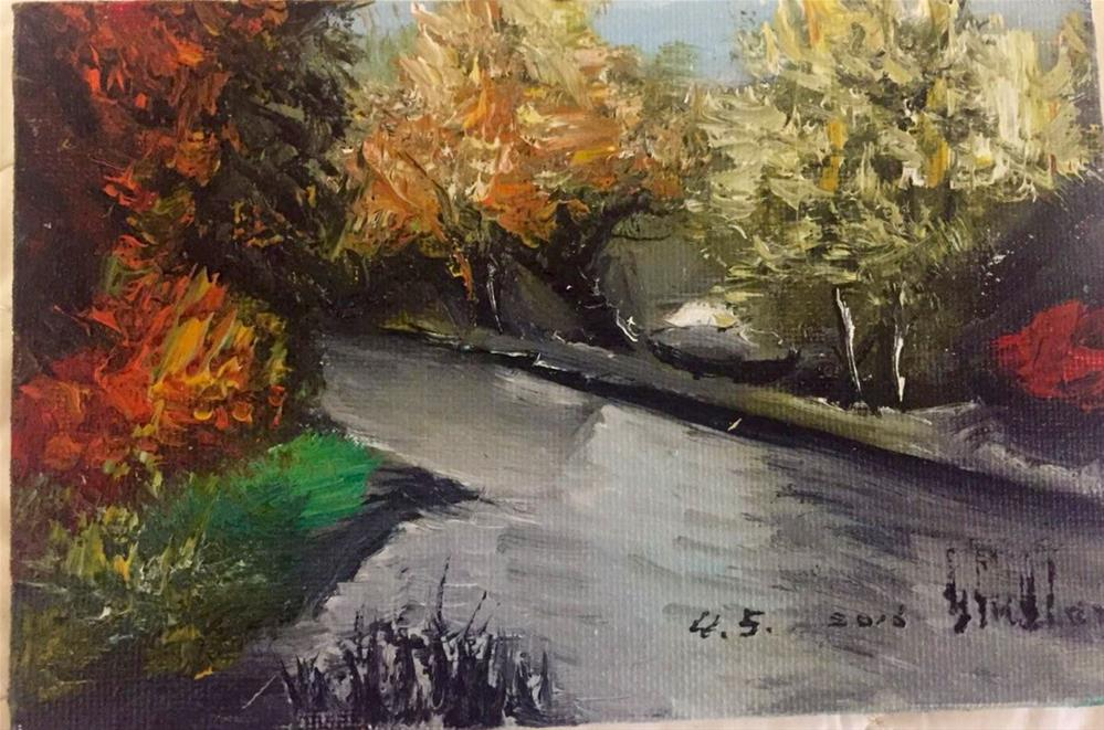 """Stream"" original fine art by tian yin"