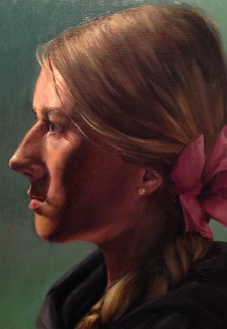 """Zienna"" original fine art by Naomi Hughes"