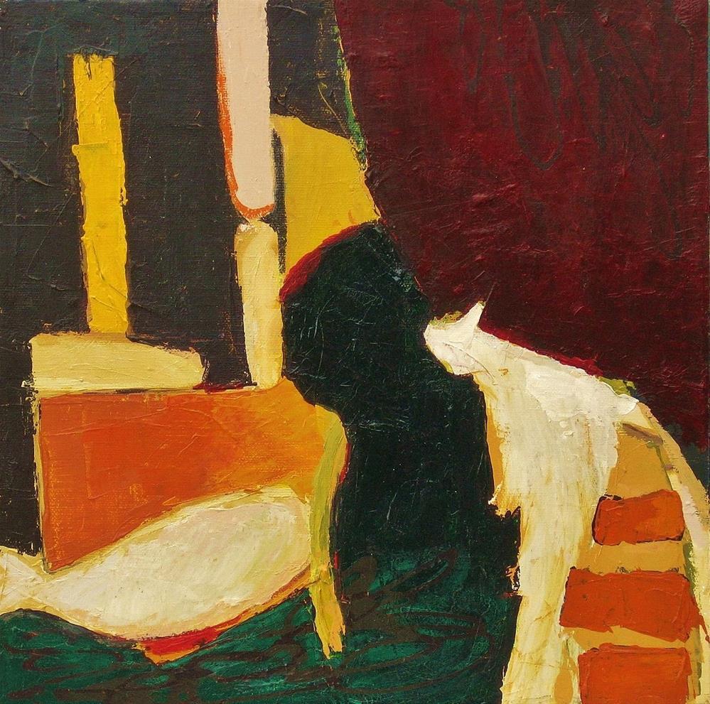 """Voyager"" original fine art by Priscilla Bohlen"