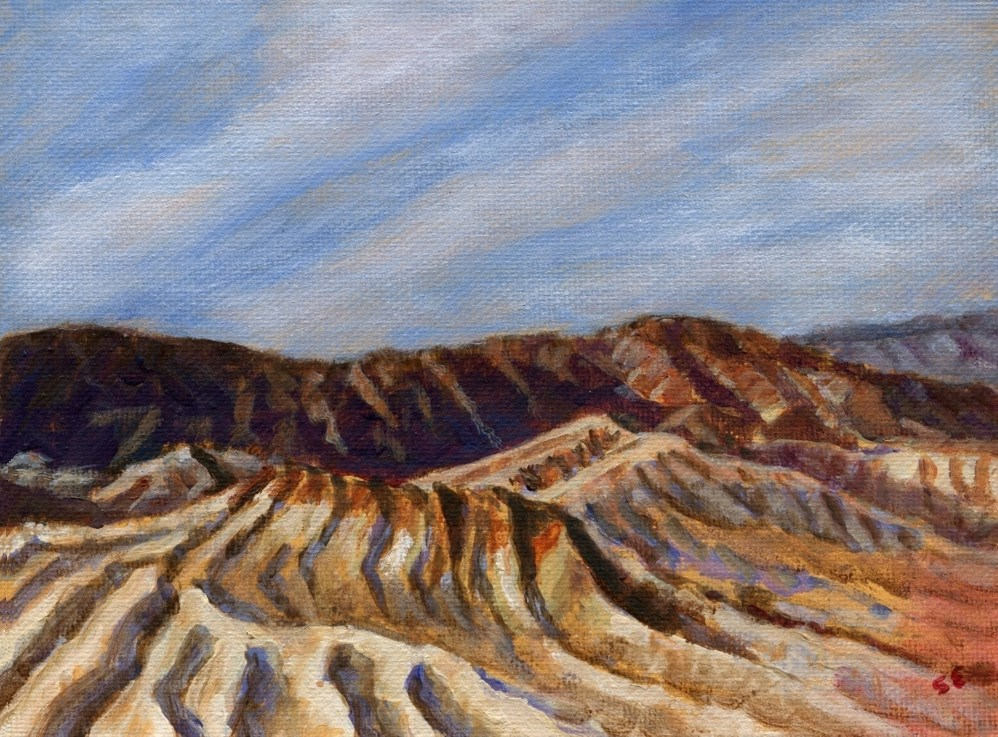 """""""Death Valley"""" original fine art by Stanley Epperson"""