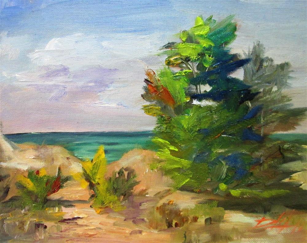 """Beach"" original fine art by Delilah Smith"