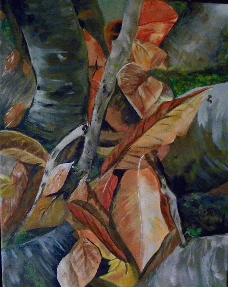 """Fall Whispers"" original fine art by cheryl buhrman"