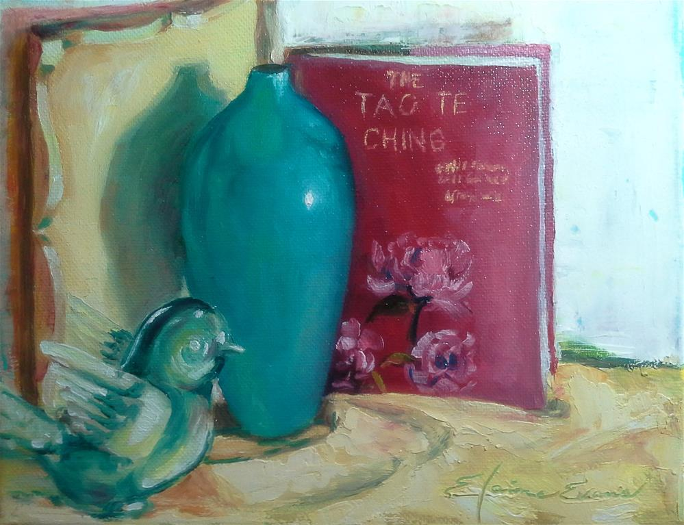"""""""The Tao"""" original fine art by Elaine Evans"""