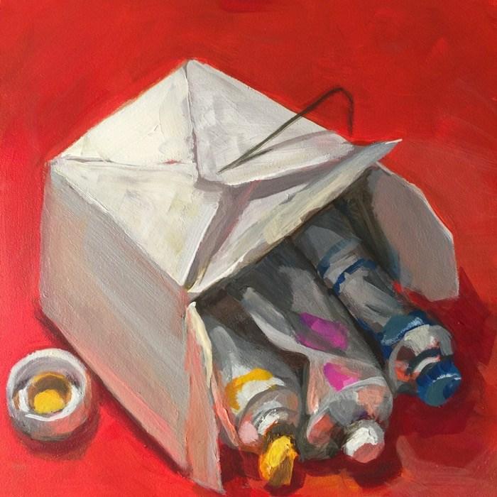 """Mai Fun"" original fine art by Mary Pargas"